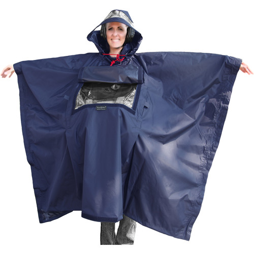 ShooterSlicker SOSL SoundSlicker Poncho (Navy)
