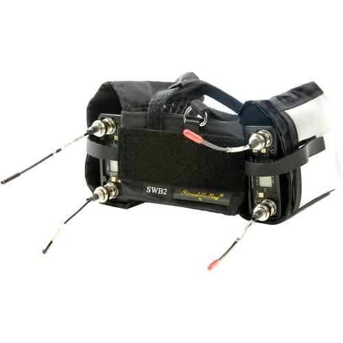ShooterSlicker SWB2 Double StraddleBag for Dual Wireless Receiver (Black)