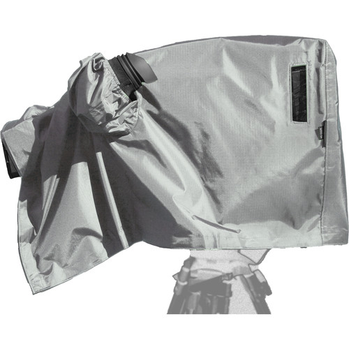 ShooterSlicker Shooterslicker Mto-S4A-Gy Triax Studio Camera Cover With Added Closed Sleeve For Antenna - Silver Gr