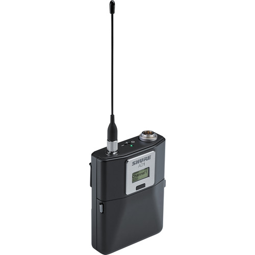 Shure AD1-G57 Axient Digital Wireless Bodypack Transmitter with TA4 Connector (G57: 470 to 616 MHz)