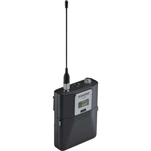 Shure AD1LEMO3-G57 Axient Digital Wireless Bodypack Transmitter with 3-Pin LEMO Connector (G57: 470 to 616 MHz)