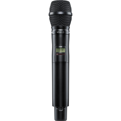 Shure AD2/VP68-G57 Axient Digital Wireless Handheld Transmitter with VP68 Mic Head (G57: 470 to 616 MHz)