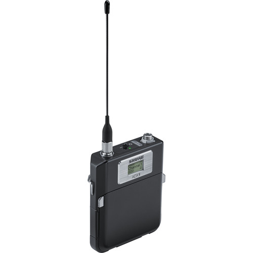 Shure ADX1 Digital Bodypack Wireless Transmitter with LEMO3 (G57: 470 to 616 MHz)