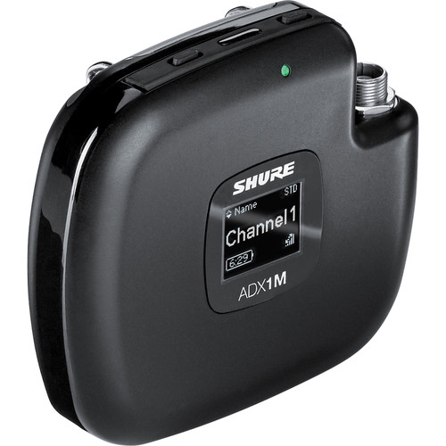 Shure ADX1M Axient Digital ADX Series Micro Wireless Bodypack Transmitter (G57: 470-616 MHz)