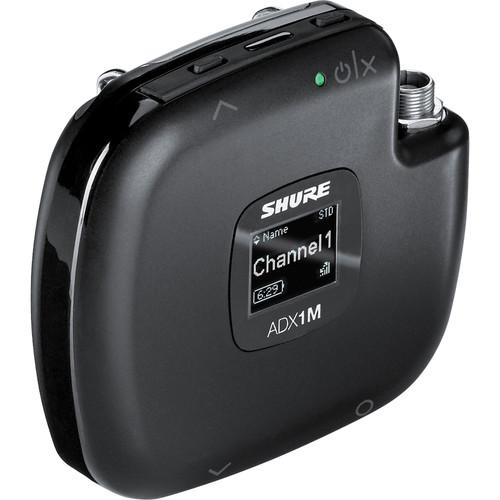 Shure ADX1M Digital Micro Bodypack Wireless Transmitter (X55: 941 to 960 MHz)