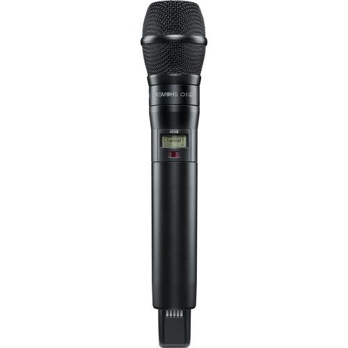 Shure ADX2/K9HSB Digital Handheld Wireless Microphone Transmitter with KSM9HS Capsule (G57: 470 to 616 MHz, Black)