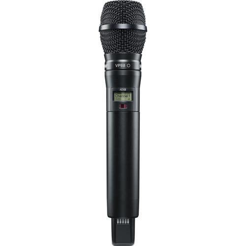 Shure ADX2/VP68 Handheld Wireless Microphone Transmitter (G57: 470 to 616 MHz, Black)