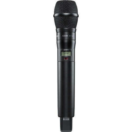 Shure ADX2FD/K9B ShowLink-Enabled Frequency Diversity Handheld Transmitter (G57: 470 to 616 MHz, Black)