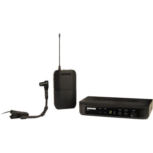 Shure BLX14/B98 Instrument Wireless System with Beta 98H/C Mic (J10: 584 - 608 MHz)