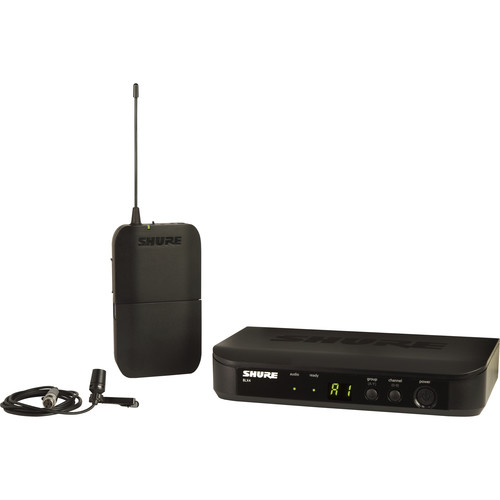 Shure BLX14/CVL Wireless Cardioid Lavalier Microphone System (H10: 542 to 572 MHz)