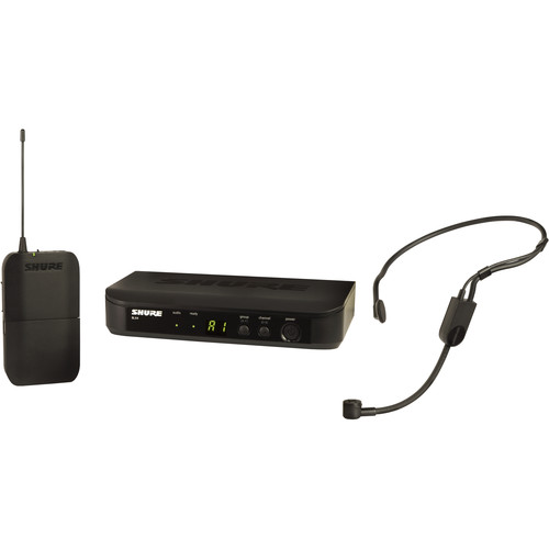 Shure BLX14/PGA31 Wireless Cardioid Headset Microphone System (H10: 542 to 572 MHz)