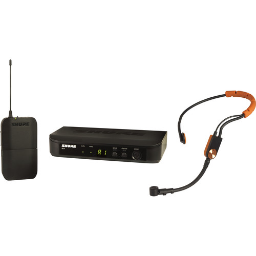 Shure BLX14/SM31 Wireless Cardioid Fitness Headset Microphone System (H10: 542 to 572 MHz)