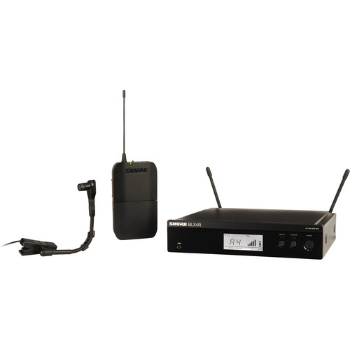 Shure BLX14R/B98 Instrument Wireless System with Beta 98H/C Mic (J10: 584 - 608 MHz)