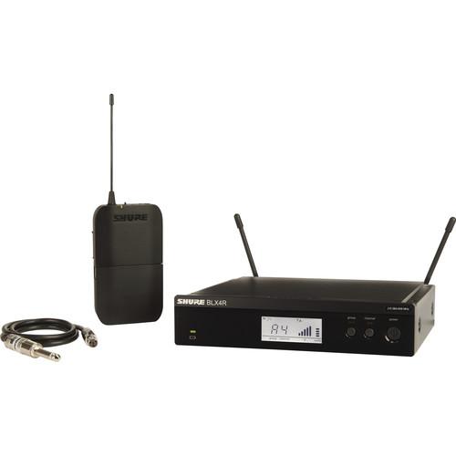 Shure BLX14R Rackmount Wireless Guitar System (H10: 542 to 572 MHz)