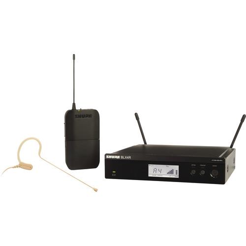 Shure BLX14R/MX53 Headworn Wireless System with MX153 Mic (J10: 584 - 608 MHz)