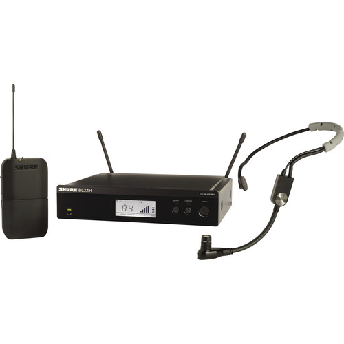 Shure BLX14R/SM35 Rackmount Wireless Cardioid Performance Headset Microphone System (H10: 542 to 572 MHz)
