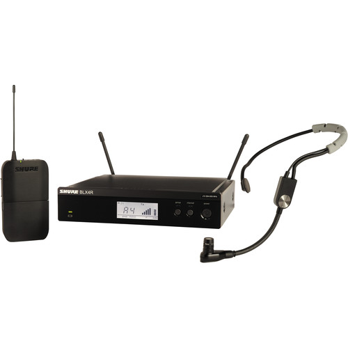 Shure BLX14R/SM35 Rackmount Wireless Cardioid Performance Headset Microphone System (J10: 584 to 608 MHz)