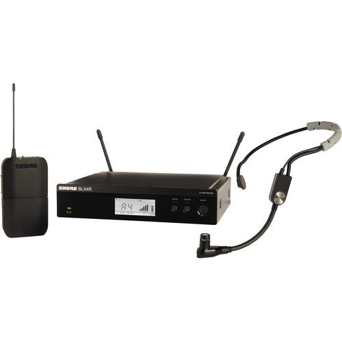 Shure BLX14R/SM35 Headworn Wireless System (J10: 584 - 608 MHz)