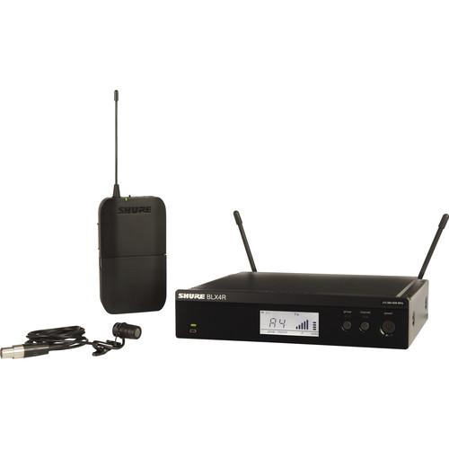 Shure BLX14R/W85 Lavalier Wireless System (H9: 512 - 542 MHz)