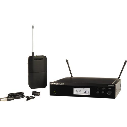 Shure BLX14R/W85 Lavalier Wireless System (J10: 584 - 608 MHz)