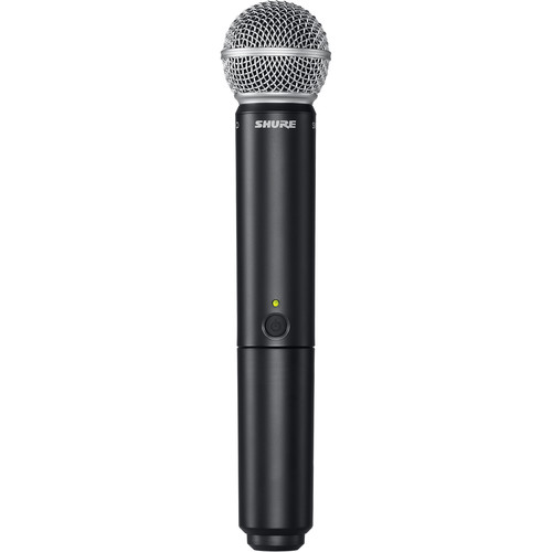 Shure BLX2/SM58 Handheld Wireless Microphone Transmitter with SM58 Capsule (H9: 512 to 542 MHz)