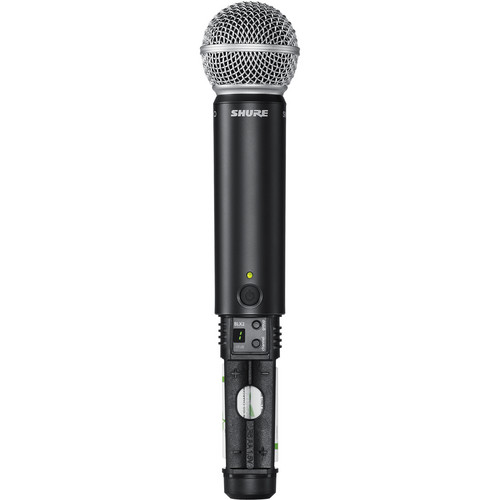 Shure BLX2 Handheld Transmitter with SM58 Microphone (J10: 584 - 608 MHz)