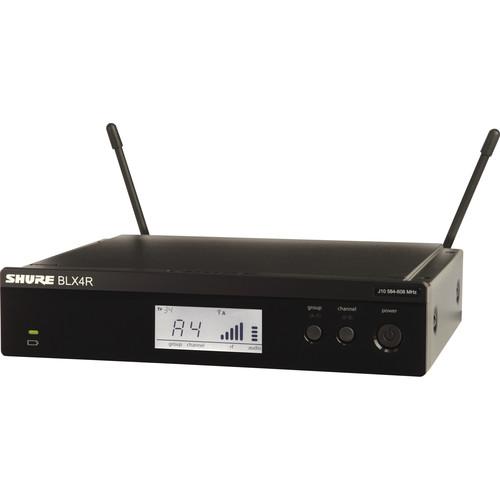 Shure BLX4R Rackmount Wireless Receiver (H9: 512 to 542 MHz)