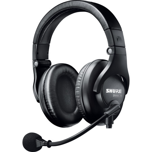 Shure Dual-Sided Broadcast Headset