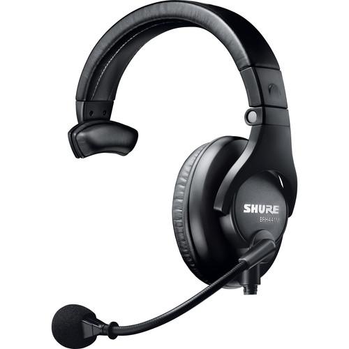 Shure Single-Sided Broadcast Headset