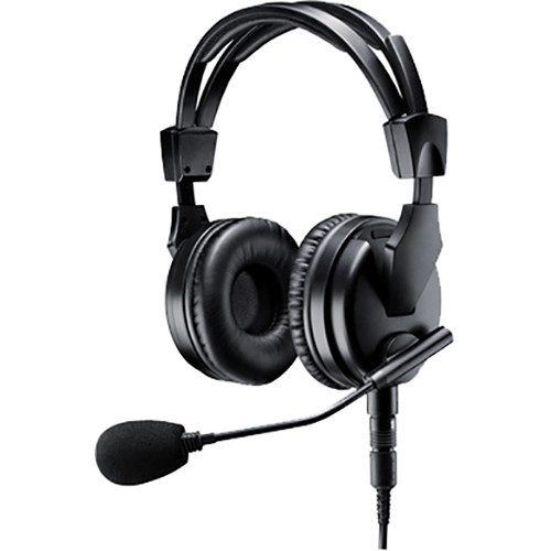 Shure BRH50M Dual-Sided Broadcast Headset with Microphone and Cable