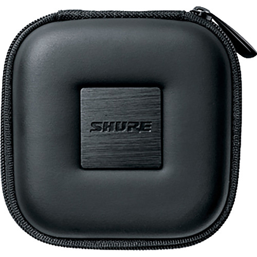 Shure Square Zippered Carrying Case for Shure Earphones (Black)