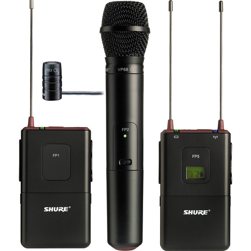 Shure FP Combo Wireless System (G5 / 494 - 518MHz)
