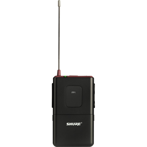 Shure FP1 Wireless Bodypack Transmitter with Wireless Transmitter/Receiver and Microphone (G4: 470 - 494 MHz)