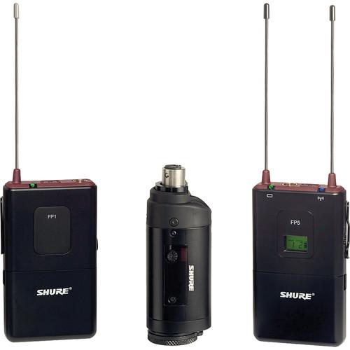 Shure FP1 Wireless Bodypack Transmitter with Wireless Transmitter/Receiver (G5: 494 - 518 MHz)