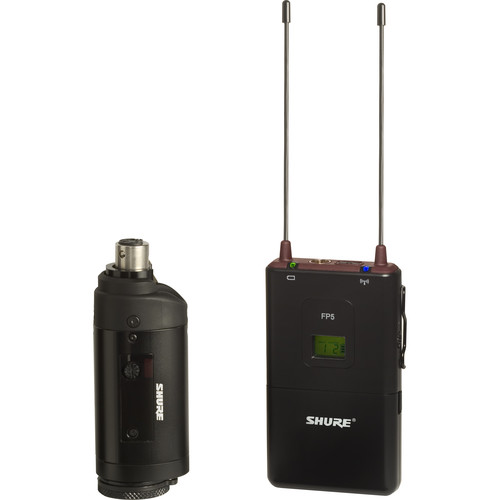 Shure FP3 Wireless Transmitter with Wireless Receiver (G5: 494 - 518 MHz)