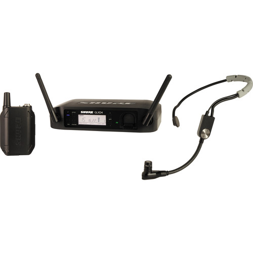 Shure GLXD14/SM35 Performance Headset Wireless System (Z2: 2400 - 2483.5 MHz)