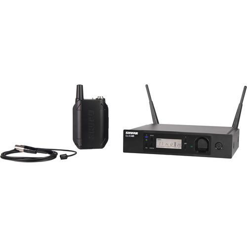 Shure GLXD14R/93 Lavalier Wireless Microphone System with WL93 (Z2 Band: 2400 - 2483.5 MHz)
