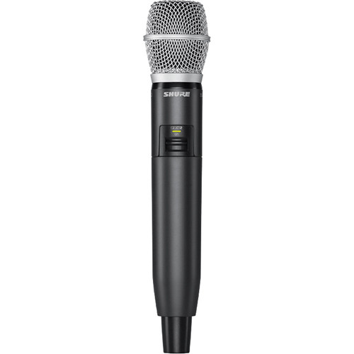 Shure GLXD2 Handheld Transmitter with SM86 Microphone Element (Z2 Band: 2400 - 2483.5 MHz)