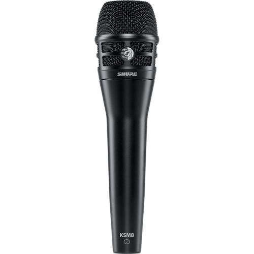 Shure KSM8/B Dualdyne Dynamic Handheld Vocal Microphone (Black)