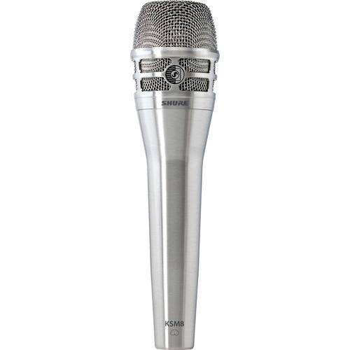 Shure KSM8/N Dualdyne Dynamic Handheld Vocal Microphone (Nickel)