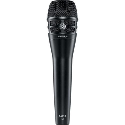 Shure KSM8B Handheld Microphone with Designer Stand Kit (Black)