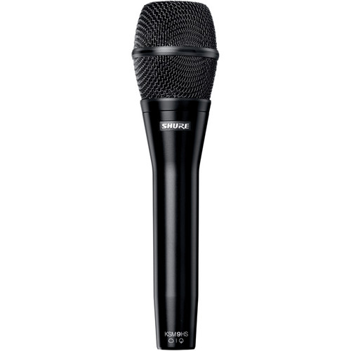 Shure KSM9HS Multi-Pattern Dual-Diaphragm Handheld Vocal Microphone (Black)