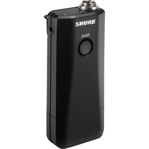 Shure MXW1 Hybrid Bodypack Transmitter with Microphone (Z10: 1920 to 1930 MHz)