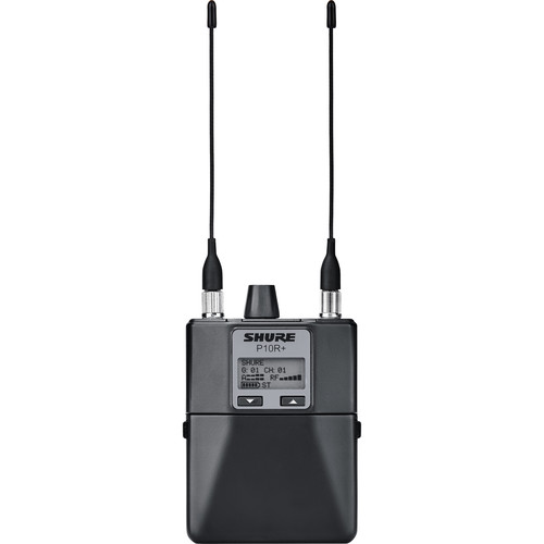 Shure P10R+ Wireless Bodypack Receiver (G10: 470 to 542 MHz)