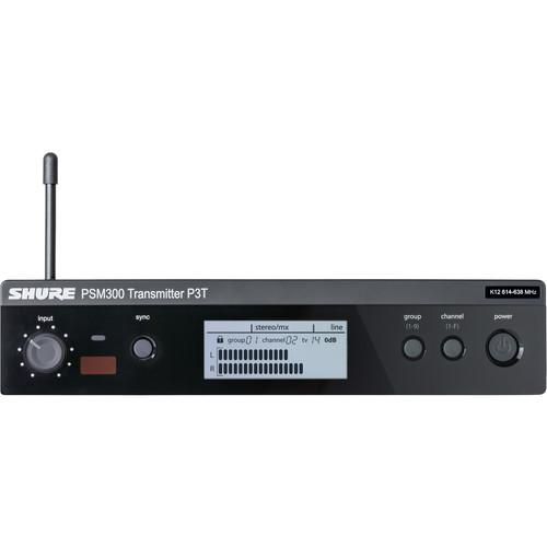 Shure P3T Wireless Transmitter for PSM300 (J13: 566-590 MHz)