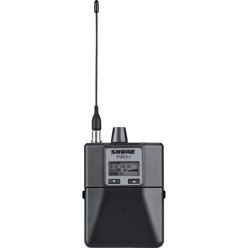 Shure P9RA+ Wireless Bodypack Receiver for PSM 900 In-Ear Personal Monitoring System (G6: 470 to 506 MHz)