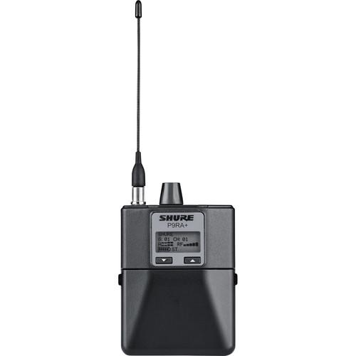 Shure P9RA+ Wireless Bodypack Receiver (G6: 470 to 506 MHz)