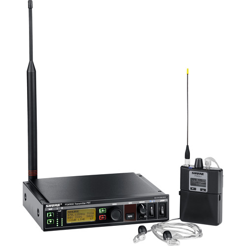 Shure PSM 900 Wireless Personal Monitor System (G7: 506.125 to 541.825 MHz)