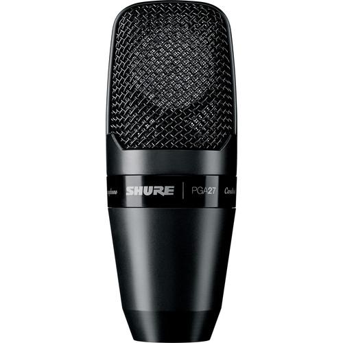 Shure PGA27 Large-Diaphragm Side-Address Condenser Microphone