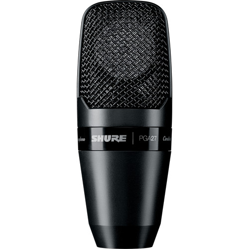 Shure PGA27 Large-Diaphragm Side-Address Condenser Microphone